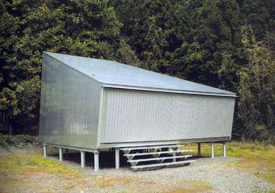 toyo ito - alluminium cottage